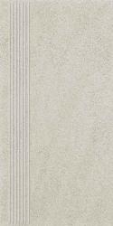 Duroteq Grys Stopnica Prosta Mat.  - Szary - 298x598 - Floor tiles - Duroteq