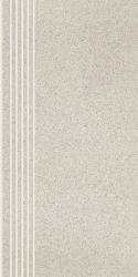 Duroteq Grys Stopnica Prosta Nacinana Poler  - Szary - 298x598 - Floor tiles - Duroteq