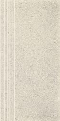 Duroteq Perla Stopnica Prosta Nacinana Poler  - Szary - 298x598 - Floor tiles - Duroteq