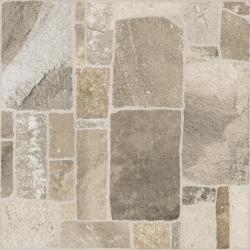 Freeman Beige Gres Szkl. Struktura  - Beżowy - 400x400 - Floor tiles - Freeman