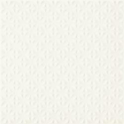 Gammo Biały Gres Szkl. Struktura  - Biały - 198x198 - Płytki podłogowe - Gamma / Gammo