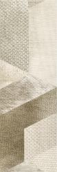 Attiya Beige Ściana Motyw C  - Beżowy - 200x600 - Wall tiles - Attiya