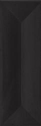 Favaro Nero ściana Struktura Mat.  - Czarny - 098x298 - Płytki ścienne - Favaro