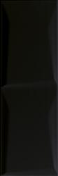 Maloli Nero ściana B Struktura  - Czarny - 200x600 - Płytki ścienne - Maloli