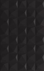 Melby Nero ściana Struktura   - Czarny - 250x400 - Płytki ścienne - Melby / Elbo