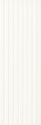 Elanda Bianco Ściana Struktura Rekt. Stripes  - Biały - 250x750 - Płytki ścienne - Elanda / Elando