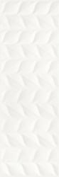 Elia Bianco Ściana A Struktura Rekt.  - Biały - 250x750 - Wall tiles - Elia
