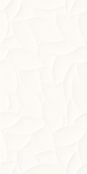Esten Bianco Ściana A Struktura Rekt.  - Biały - 295x595 - Płytki ścienne - Esten