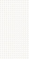Esten Bianco Ściana C Struktura Rekt.  - Biały - 295x595 - Wall tiles - Esten