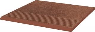 Taurus Brown Stopnica Prosta   - Brązowy - 300x300 - Płytki podłogowe - Taurus