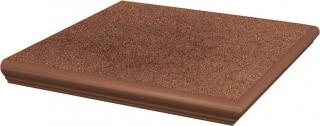 Taurus Brown Kapinos Stopnica Narożna  - Brązowy - 330x330 - Płytki podłogowe - Taurus