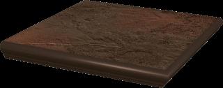 Semir Brown Kapinos Stopnica Narożna  - Brązowy - 330x330 - Płytki podłogowe - Semir