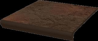 Semir Brown Kapinos Stopnica Prosta  - Brązowy - 300x330 - Płytki podłogowe - Semir