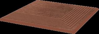 Taurus Brown Stopnica Narożna   - Brązowy - 300x300 - Płytki podłogowe - Taurus