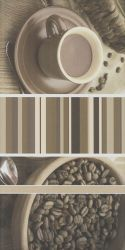 Vivida Bianco Inserto Cafe A  - Biały - 300x600 - декорации - Vivida / Vivido